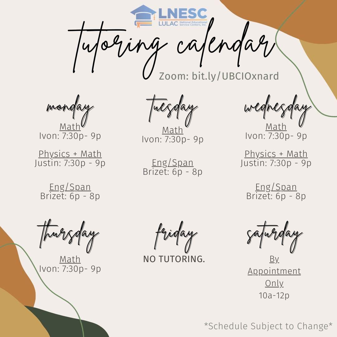 Fall21 Tutoring Calendar (1)